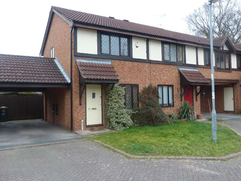 2 Bedrooms End Of Terrace House for sale in Field Lane Wistaston Crewe