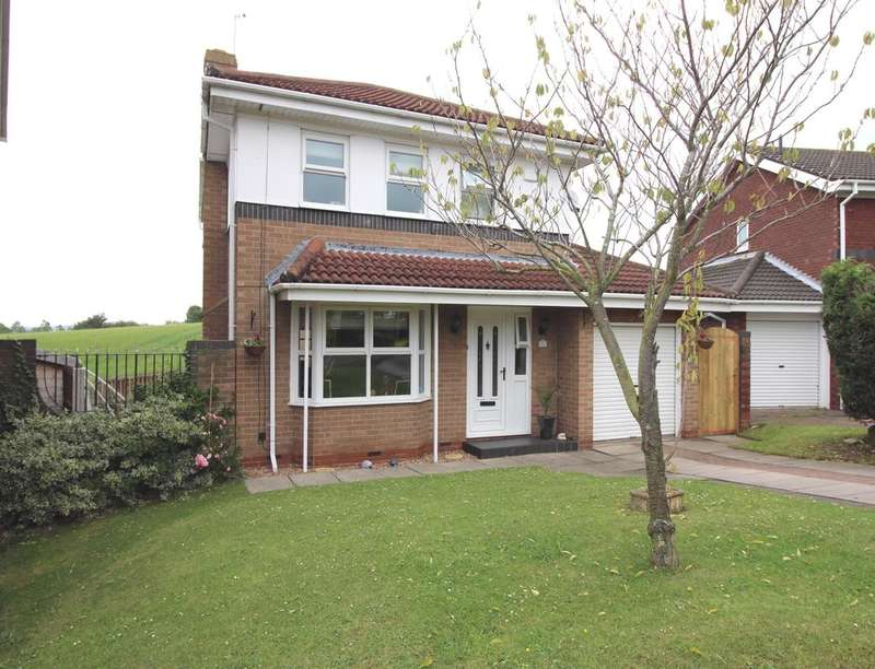 4 Bedrooms Detached House for sale in Moss Crescent, Crawcrook, Ryton, NE40