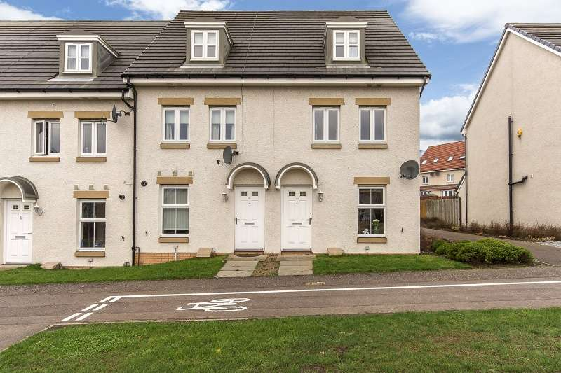 3 Bedrooms Town House for sale in Greenshank Drive, Dunfermline, Fife, KY11 8NW