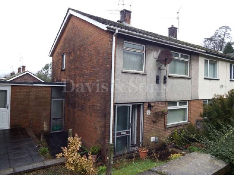 3 Bedrooms Semi Detached House for sale in Malpas Road, Newport, Gwent. NP20 6WA