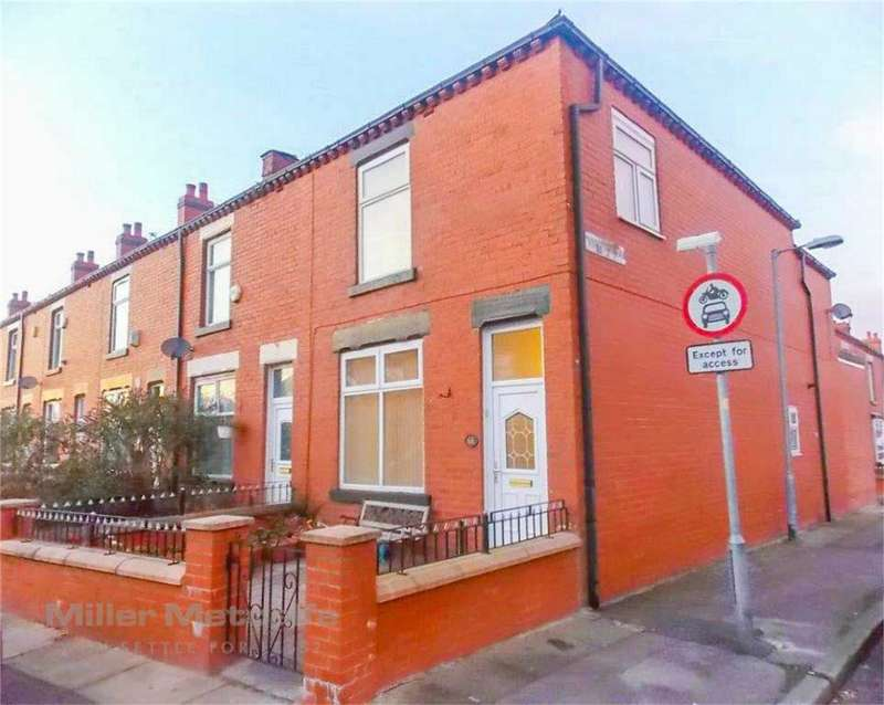 3 Bedrooms End Of Terrace House for sale in Campbell Street, Farnworth, Bolton, Lancashire