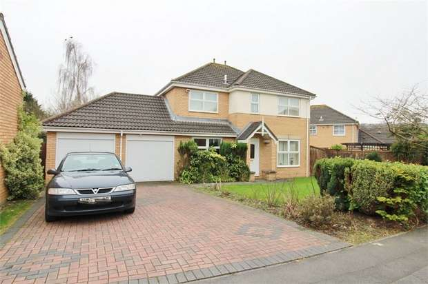 4 Bedrooms Detached House for sale in Grenadier Drive, Langstone, Newport