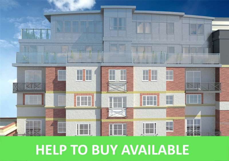 2 Bedrooms Apartment Flat for sale in Mint Walk, Croydon