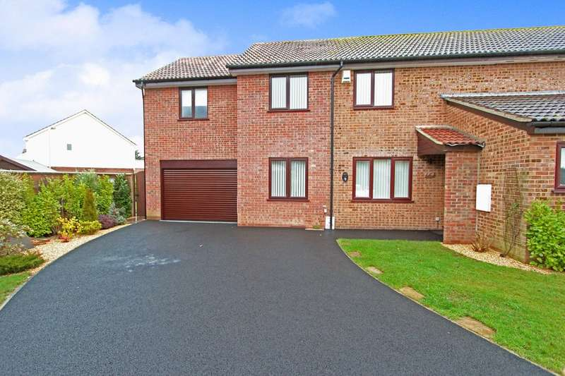 4 Bedrooms Semi Detached House for sale in HIGHCLIFFE ON SEA