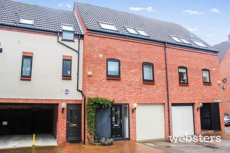 3 Bedrooms Town House for sale in Mulberry Close, Norwich