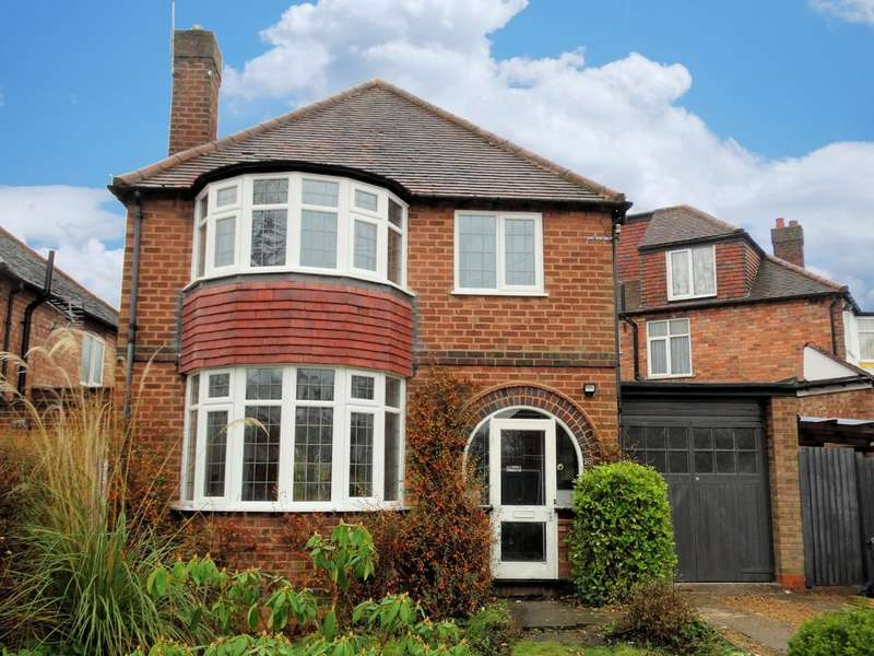 3 Bedrooms Detached House for sale in Oban Road, Solihull