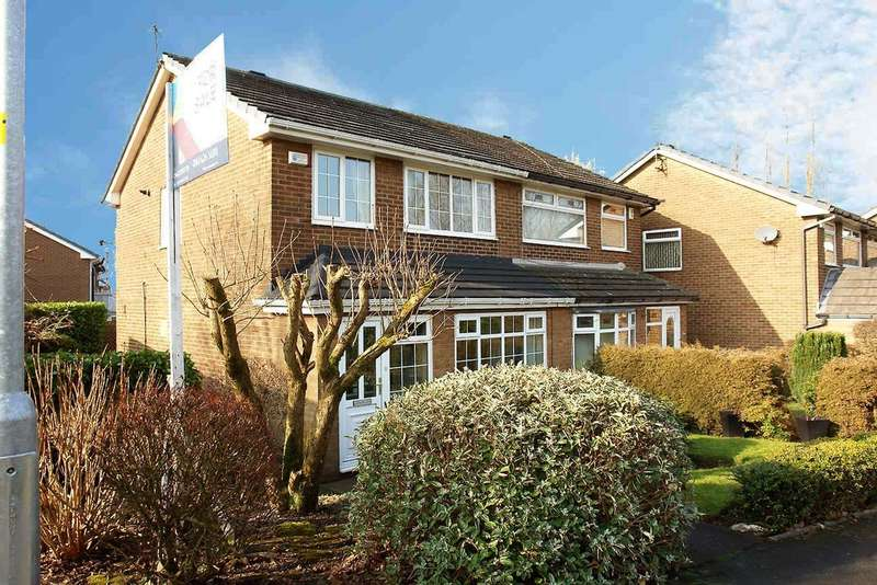 3 Bedrooms Semi Detached House for sale in 1 Glasson Walk, Chadderton