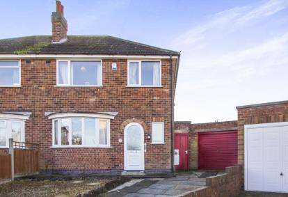 3 Bedrooms Semi Detached House for sale in Homemead Avenue, Leicester, Leicestershire