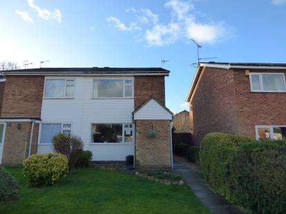 2 Bedrooms Semi Detached House for sale in Denton Walk, Wigston, Leicester, Leicestershire