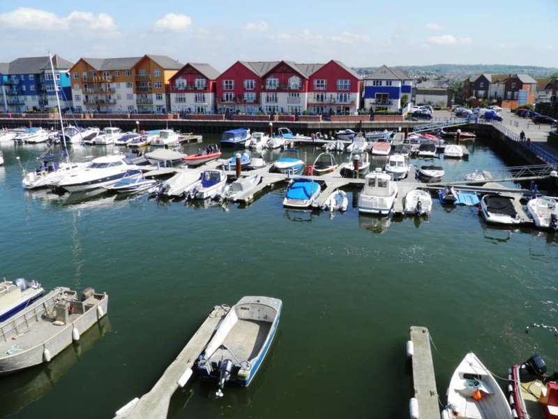 2 Bedrooms Flat for sale in Pilot Wharf, Exmouth