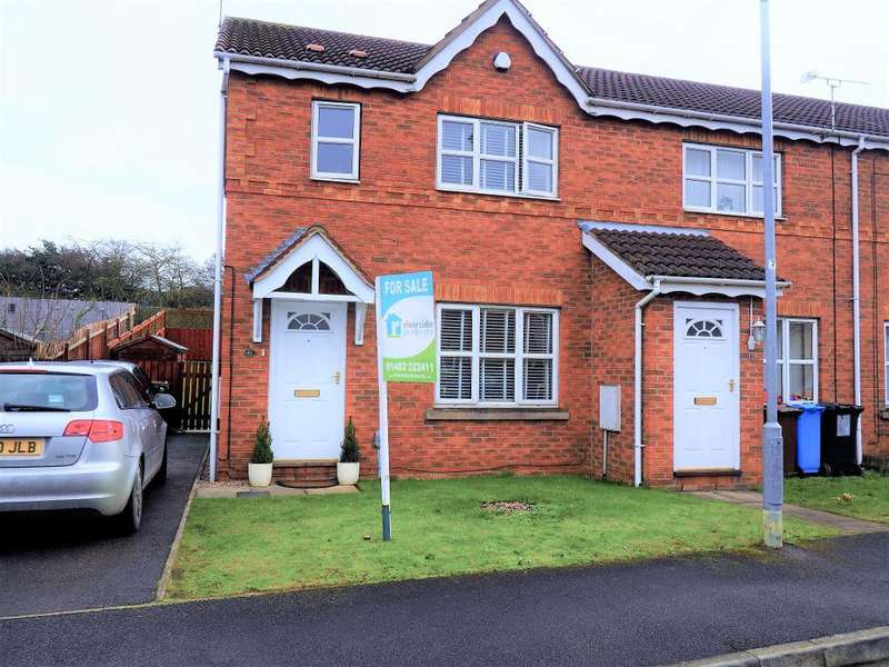 3 Bedrooms Semi Detached House for sale in Mast Drive, Victoria Dock, Hull, HU9 1ST