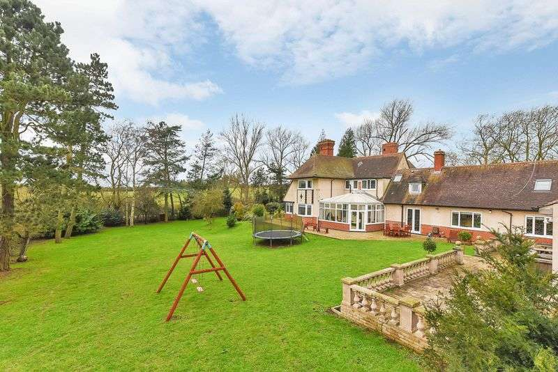 5 Bedrooms Detached House for sale in Houghton-on-the-Hill, Leicestershire