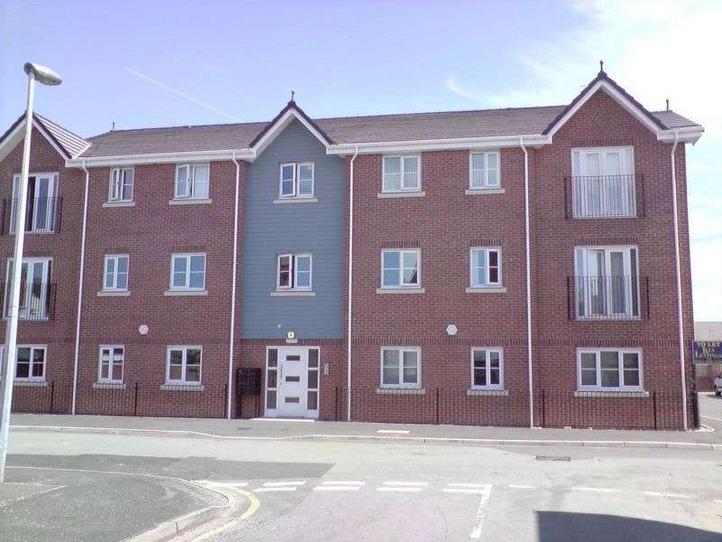 2 Bedrooms Flat for sale in Siding Court, Guest Street, Widnes