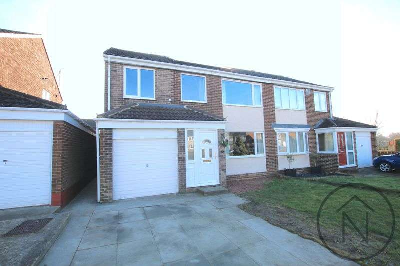 4 Bedrooms Semi Detached House for sale in Hambleton Court, Newton Aycliffe
