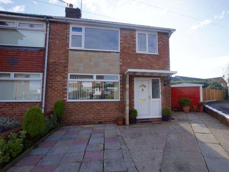 3 Bedrooms Semi Detached House for sale in Menai Way, Gwersyllt, Wrexham