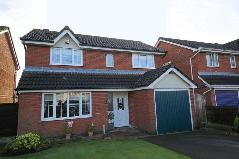 4 Bedrooms Detached House for sale in Alberton Close, Aspull, Wigan