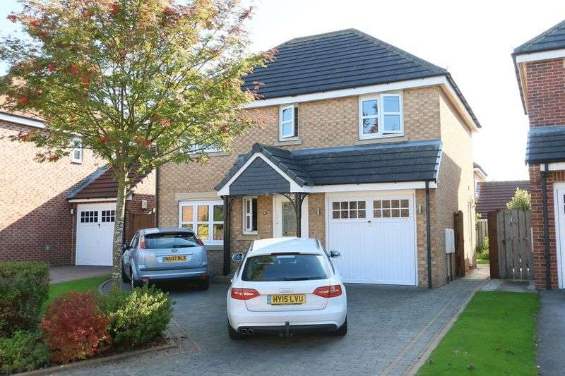 4 Bedrooms Detached House for sale in Budworth Park, Hull