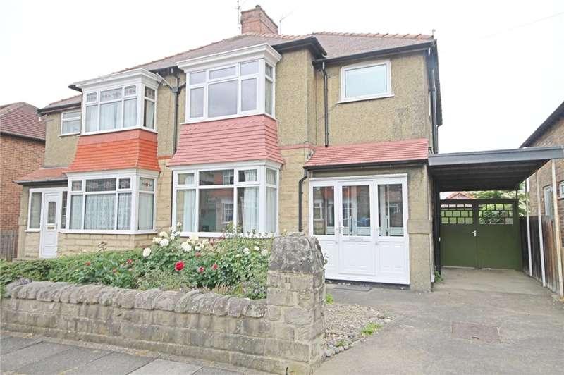 3 Bedrooms Semi Detached House for sale in Highbury Road, Darlington, Co Durham, DL3