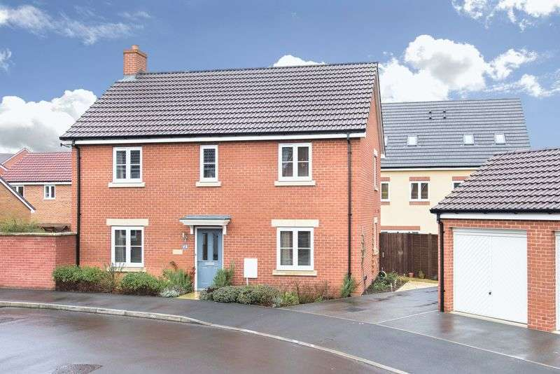 4 Bedrooms Detached House for sale in Bechstein Meadow, Trowbridge