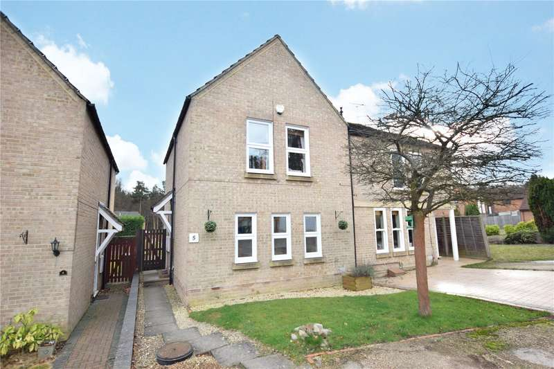 3 Bedrooms Semi Detached House for sale in Sykes Cottages, Forest Park, Bracknell, Berkshire, RG12