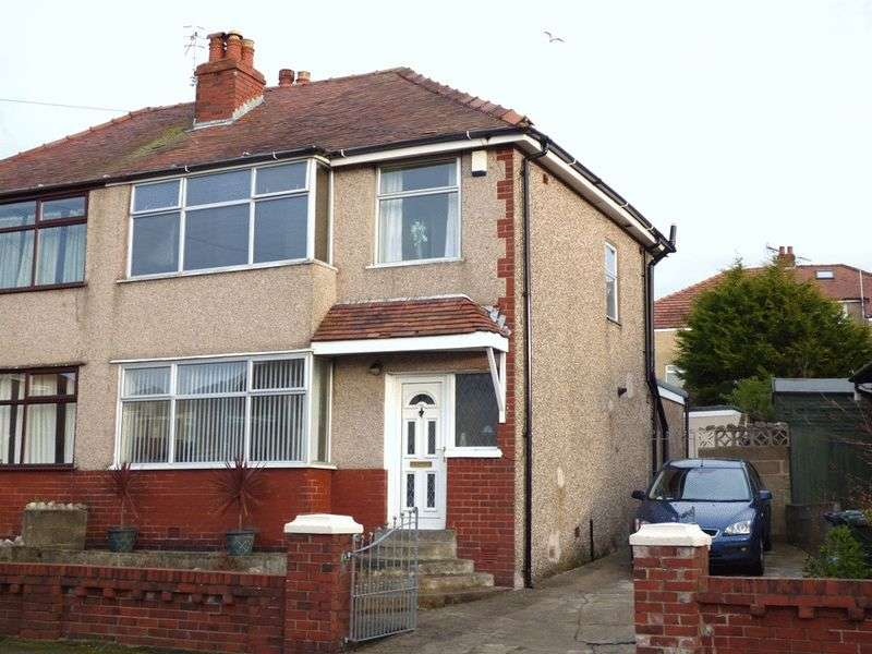 3 Bedrooms Semi Detached House for sale in Schola Green Lane, Morecambe