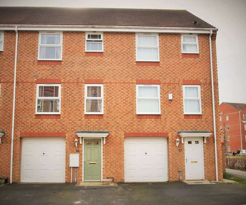 4 Bedrooms Terraced House for sale in Lingwood Court, Stockton-On-Tees