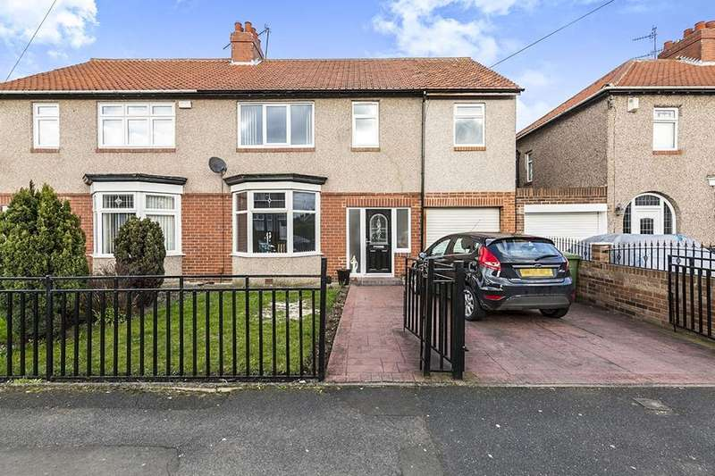 4 Bedrooms Semi Detached House for sale in Holmside Avenue, Gateshead, NE11