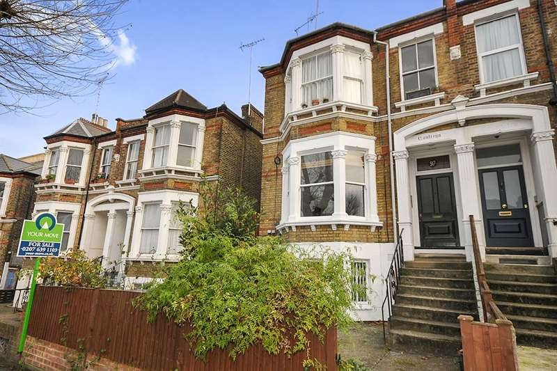 2 Bedrooms Flat for sale in Jerningham Road, Telegraph Hill Conservation Area, London, SE14