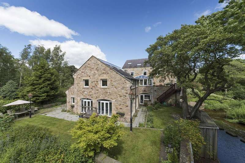 6 Bedrooms Mill Character Property for sale in Weldon, Longframlington, Northumberland NE65