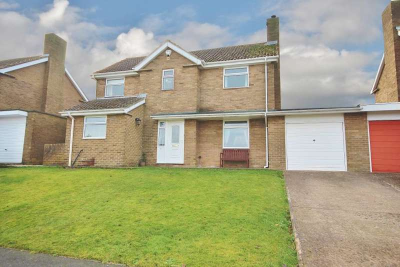 4 Bedrooms Link Detached House for sale in Meadow Riggs, Alnwick, Northumberland NE66