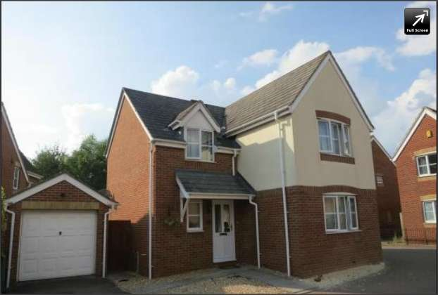 4 Bedrooms Detached House for sale in Cashford Gate, Taunton TA2