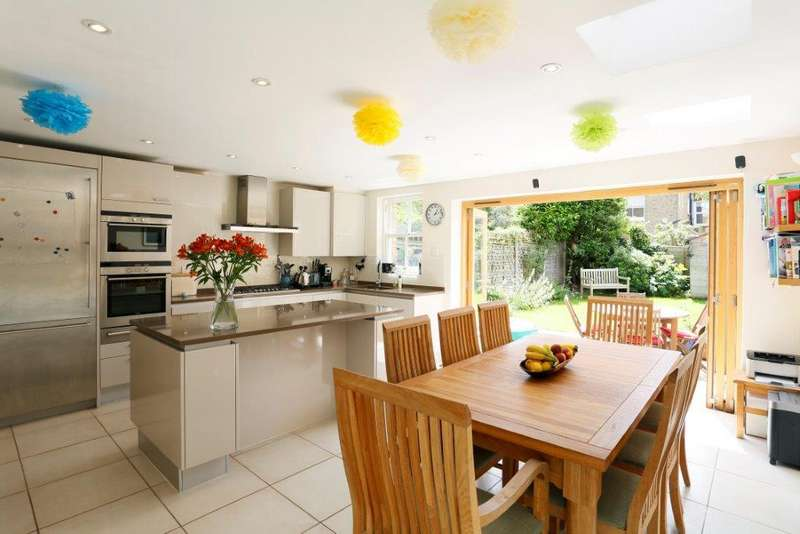 5 Bedrooms Terraced House for sale in HEAVER ESTATE, BALHAM SW17