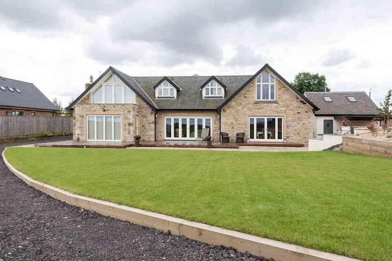 6 Bedrooms Detached House for sale in Rosehill Lodge, Dissington Lane, Ponteland, Newcastle upon Tyne, NE15 0AB