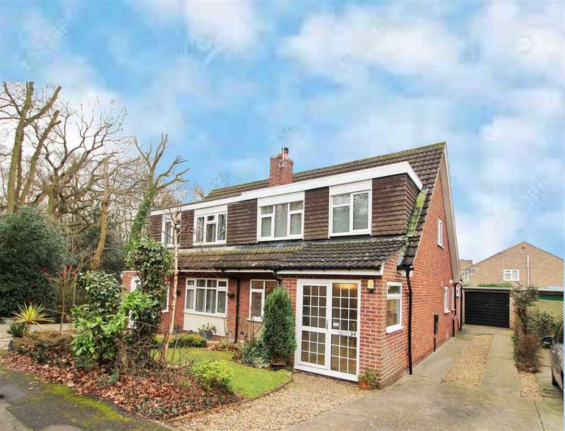 3 Bedrooms Semi Detached House for sale in Bullock Wood Close, St. John's, Colchester