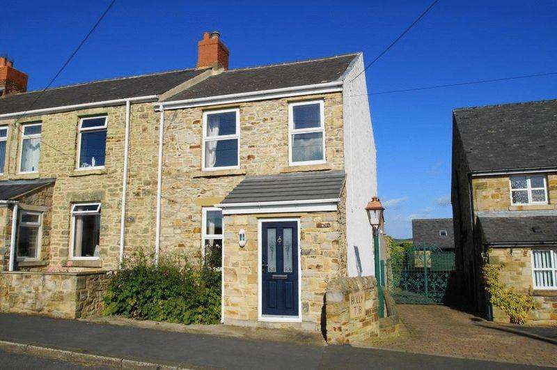 2 Bedrooms End Of Terrace House for sale in Consett Terrace, Esh Village, Co. Durham DH7