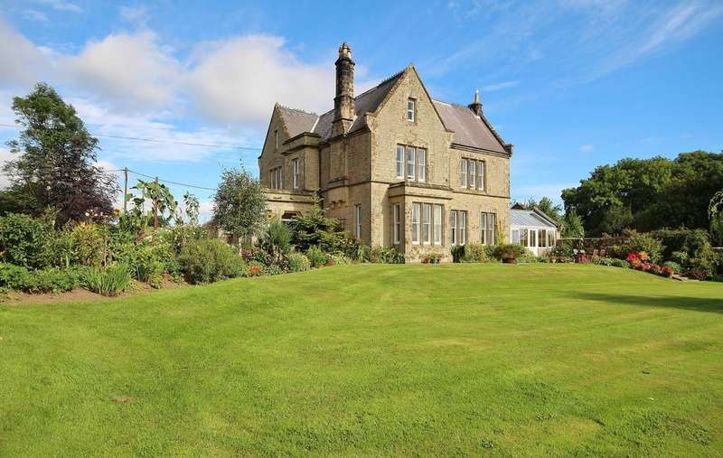 6 Bedrooms Semi Detached House for sale in The Grange, Whittingham, Alnwick, Northumberland NE66