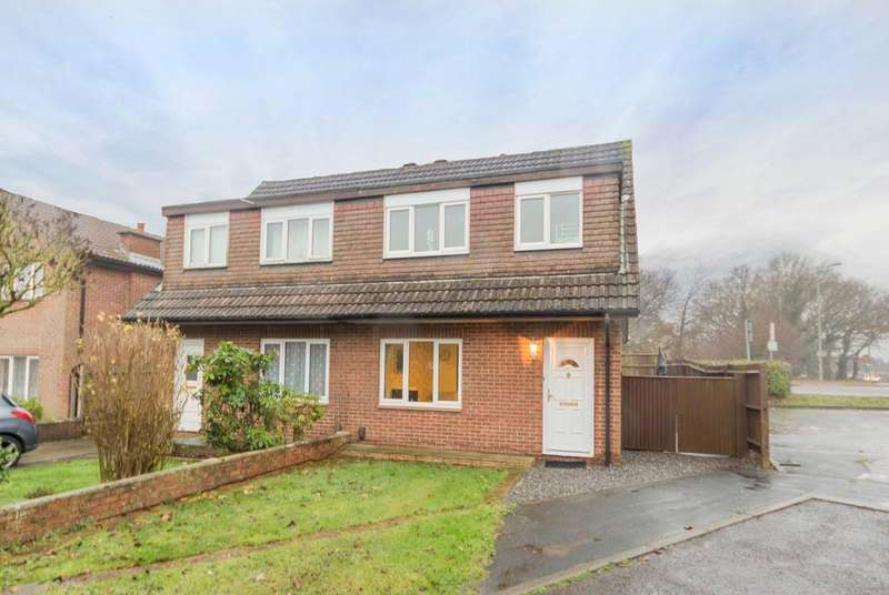 3 Bedrooms Semi Detached House for sale in St George Close, Bursledon, Southampton SO31
