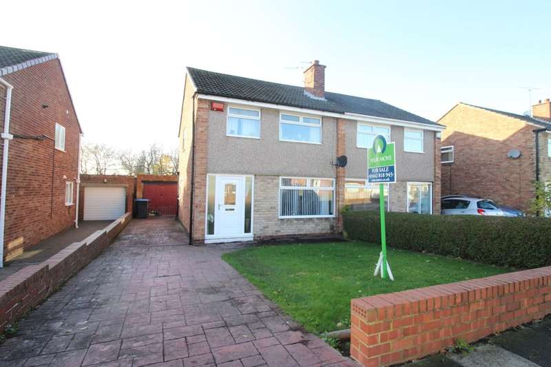 3 Bedrooms Semi Detached House for sale in Wolsingham Drive, Middlesbrough, TS5