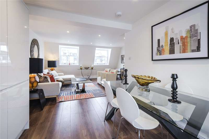 3 Bedrooms Flat for sale in Winchester Street, London, SW1V