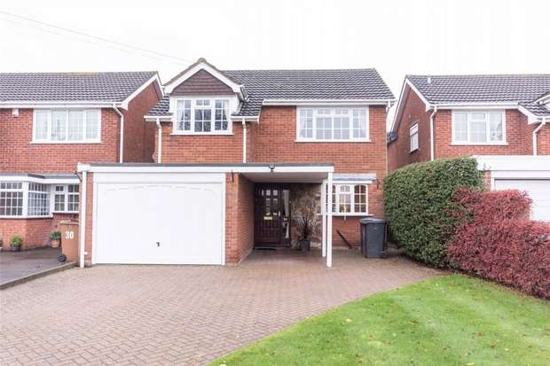 4 Bedrooms Detached House for sale in Cricket Lane, Lichfield, Staffordshire