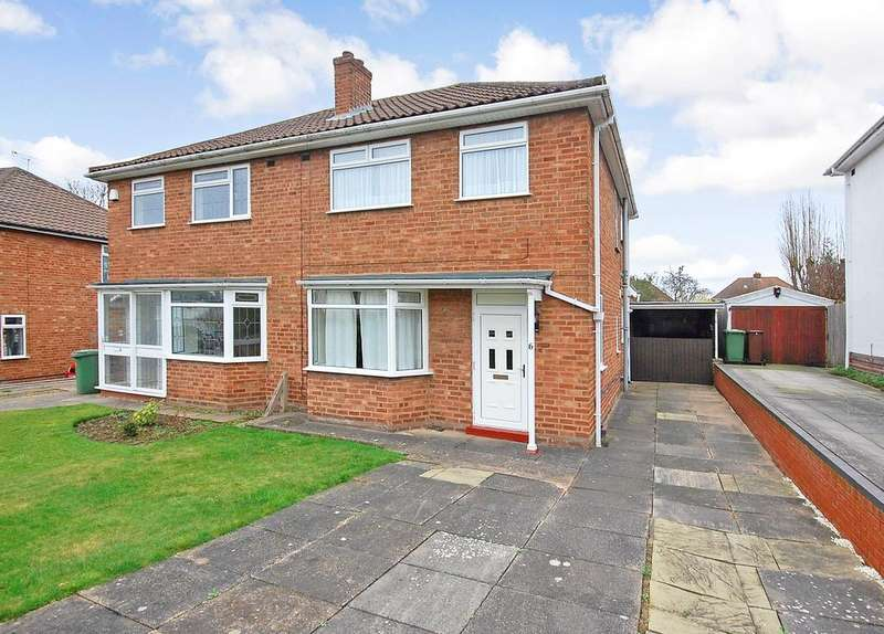 3 Bedrooms Semi Detached House for sale in Grasmere Close, Palmers Cross, Wolverhampton WV6