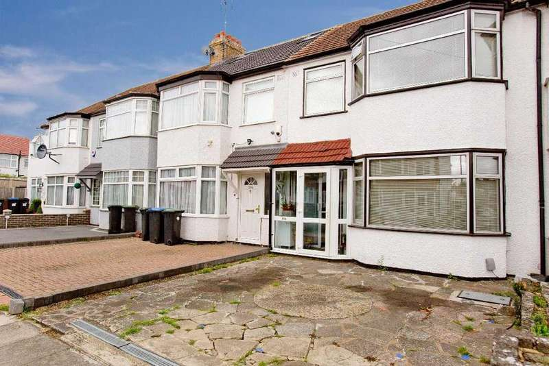 3 Bedrooms Terraced House for sale in New Park Avenue, Palmers Green