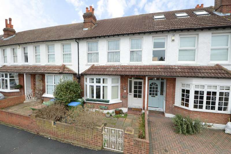 3 Bedrooms Terraced House for sale in Annett Road, WALTON ON THAMES KT12
