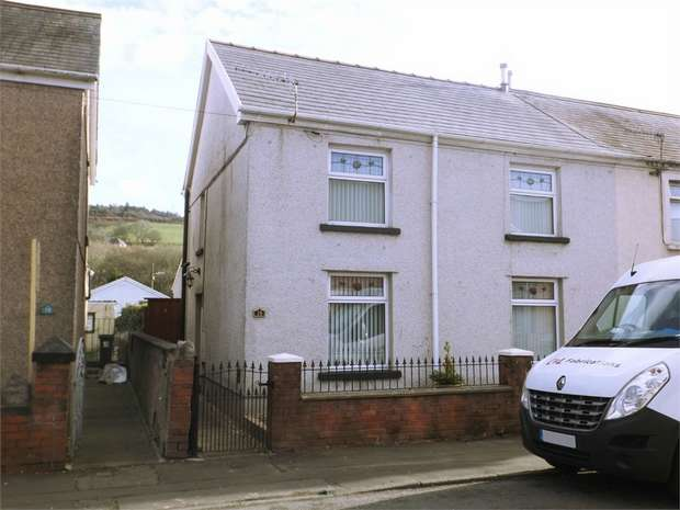 3 Bedrooms Semi Detached House for sale in Depot Road, Cwmavon, Port Talbot, West Glamorgan