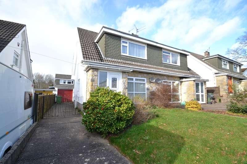 3 Bedrooms Semi Detached House for sale in Mur Gwyn , Rhiwbina, Cardiff. CF14 6NR