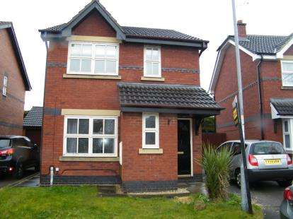 3 Bedrooms Detached House for sale in Glendale Close, Wistaston, Crewe, Cheshire