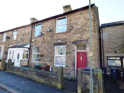 2 Bedrooms End Of Terrace House for sale in New Street, New Mills, High Peak