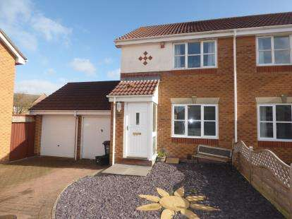 2 Bedrooms Semi Detached House for sale in Weston-super-Mare