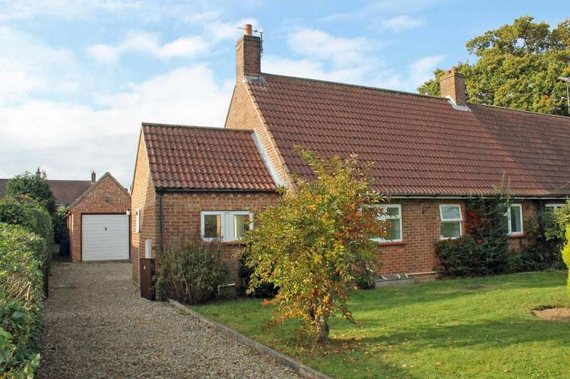 2 Bedrooms Semi Detached Bungalow for sale in Woodfield, Briston, Melton Constable NR24