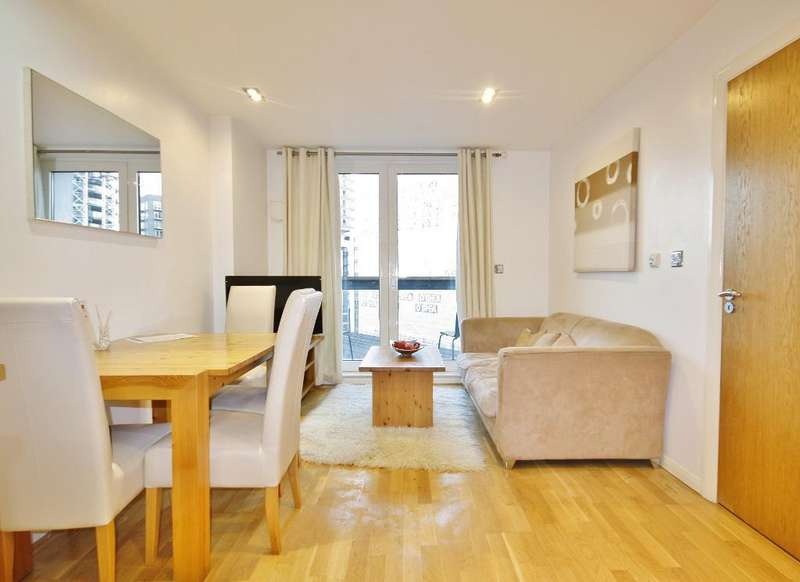 2 Bedrooms Flat for sale in 3 Limeharbour, London, London, E14 9LS